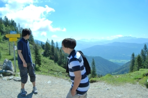 hiking-in-kampenwand