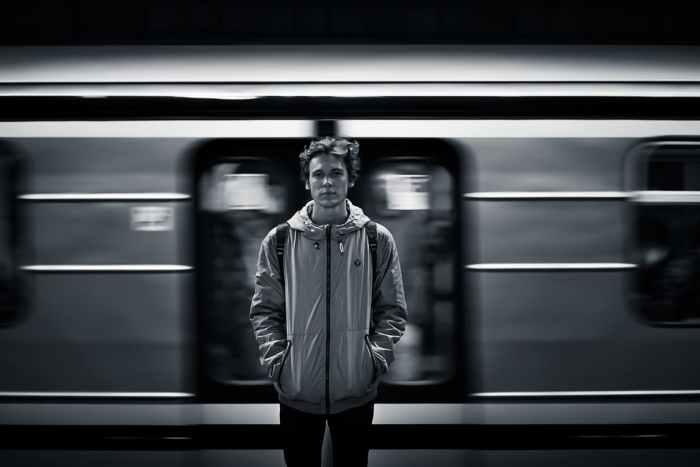 black-and-white-person-train-motion-42153-pixel-photo
