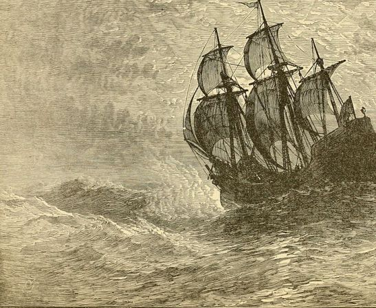 the_mayflower_at_sea