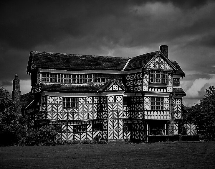timbered-building